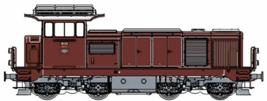 LS Models 17060S - Swiss Diesel Locomotive 18409 of the SBB (DCC Sound Decoder)