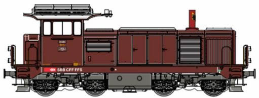 LS Models 17564S - Swiss Diesel Locomotive 18414 of the SBB (Sound Decoder)
