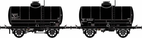 LS Models 30447 - 2pc Tank Car Set OCEM of the SNCF