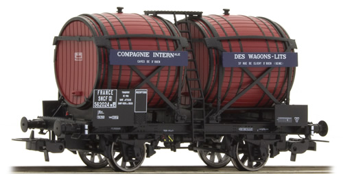LS Models 30561 - French Double Barrel Car OCEM 19 of the SNCF – Brown