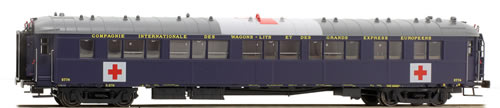 LS Models 49140 - Orient Express Sleeping Car S2 w/ Red Cross Logo of the CIWL