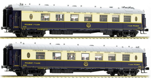LS Models 49171 - Orient Express 2pc Saloon Car Set Typ WP & Wpc with Kitchen of the CIWL