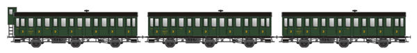 LS Models MW31901 - 3pc Passenger Coach Set PLM