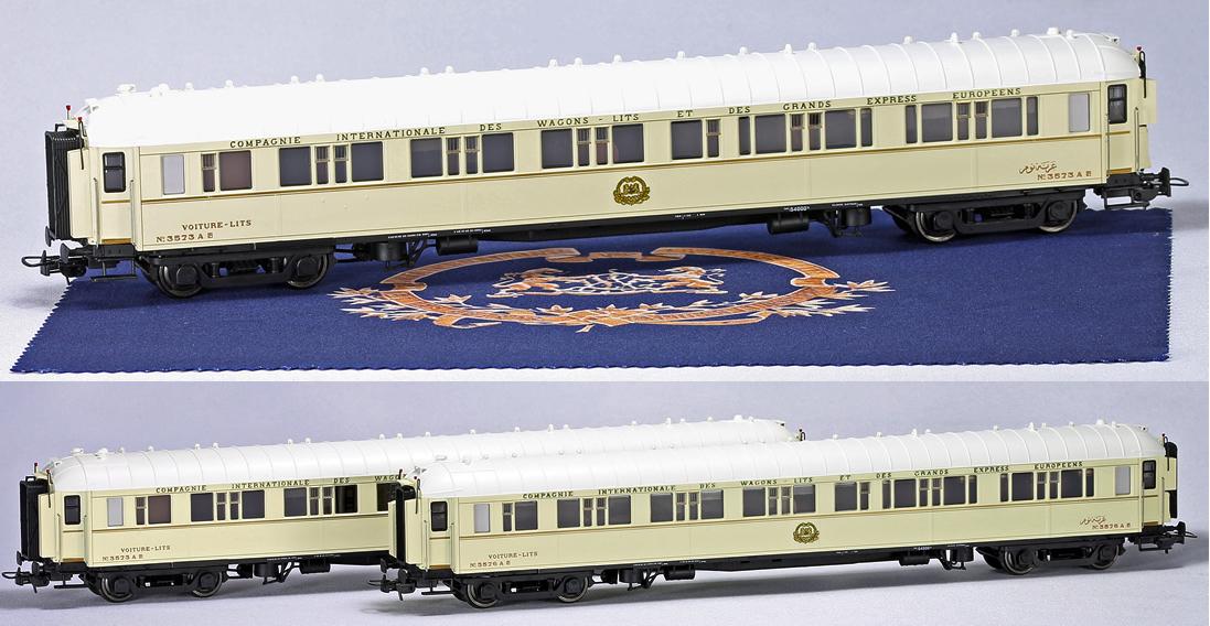 Ls models 49139 orient express 3pc sleeping car set typ for Orient mobel