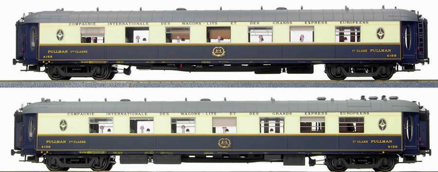 Ls models 49173 orient express 2pc saloon car set wp for Orient mobel