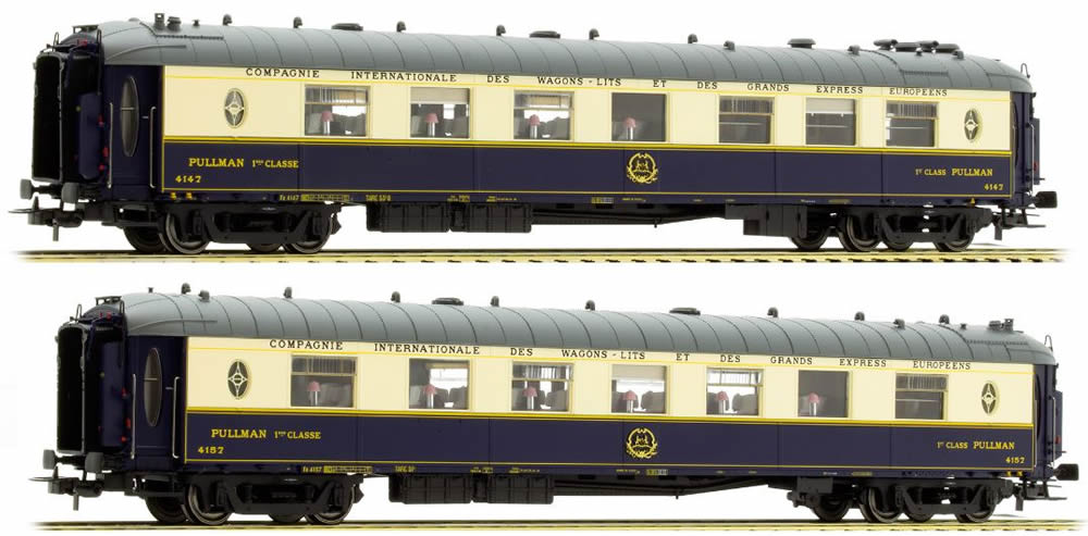 Ls models 49174 orient express 2pc saloon car set wp for Orient mobel