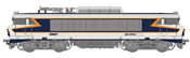 French Electric locomotive series BB 10004 of the SNCF (DCC Sound Decoder)
