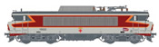 French Electric Locomotive series BB 15022 of the SNCF