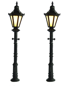 Mabar 60170-N - 2 classic lamppost with LED