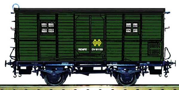 Mabar M-81333 - Baggage car DV61220 RENFE green