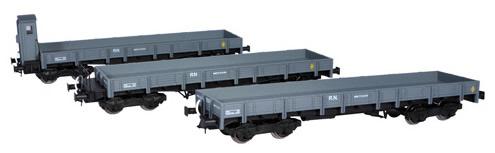 Mabar M-81400 - 3pc Flat Car Set