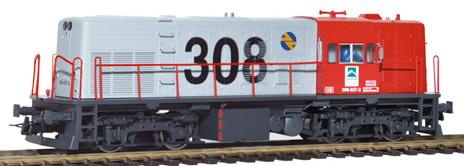 Mabar M-81503 - Spanish Diesel Locomotive 308-027 of the RENFE
