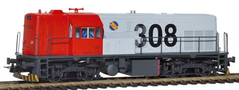Mabar M-81505 - Spanish Diesel Locomotive 308-019 of the RENFE