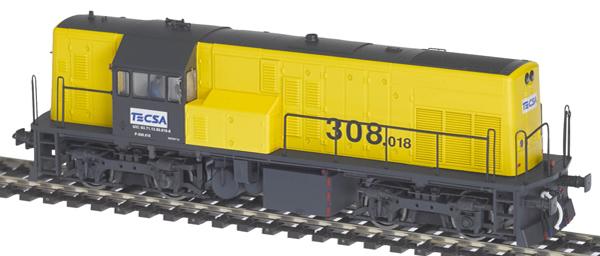 Mabar M-81506 - Spanish Diesel Locomotive 10818 of the TECSA