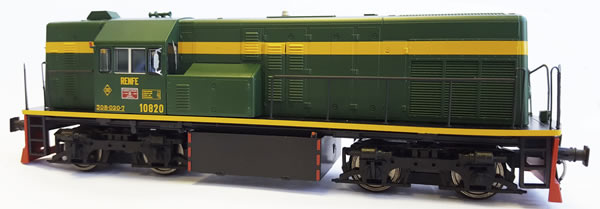 Mabar M-81507 - Spanish Diesel Locomotive 10820 of the RENFE with UIC