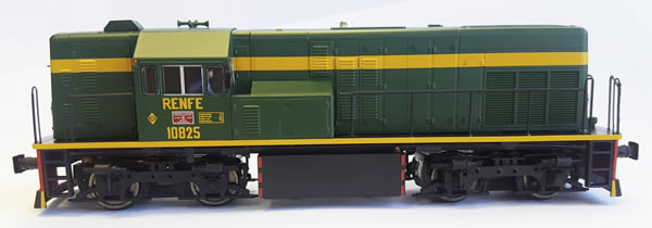 Mabar M-81508s - Spanish Diesel Locomotive 10825 of the RENFE without UIC (DCC Sound Decoder)