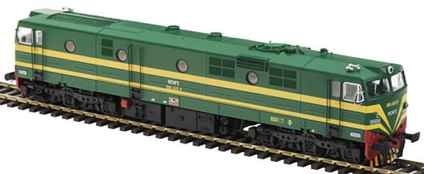 Mabar M-81512 - Spanish Diesel Locomotive 19904 of the RENFE ASFA