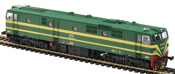 Mabar M-81512s - Spanish Diesel Locomotive 19904 of the RENFE (DCC Sound Decoder)