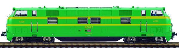 Mabar M-81581s - Spanish Diesel Locomotive 4026 UIC 340-026-4 of the RENFE (DCC Sound Decoder)