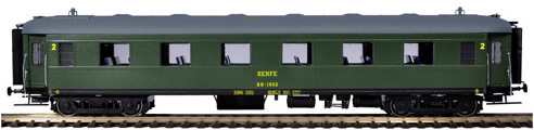 Mabar M-81621 - Passenger Coach BB1602 without UIC