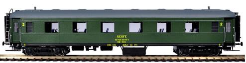 Mabar M-81624 - Passenger Coach BB1611 with UIC