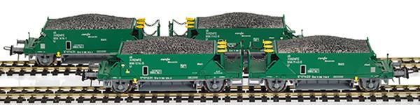 Mabar M-81717 - 4pc Hopper Wagon Set green