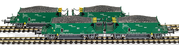 Mabar M-81717 - 4pc Hopper Wagon Set green