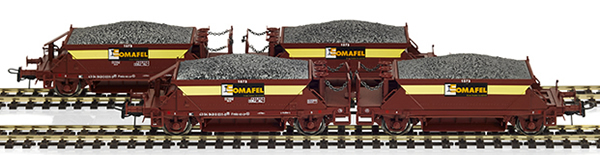 Mabar M-81719 - 4pc Hopper Wagon Set CP SOMAFEL