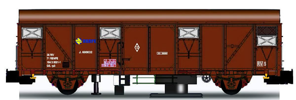 Mabar M-81850 - Track Cleaner Wagon