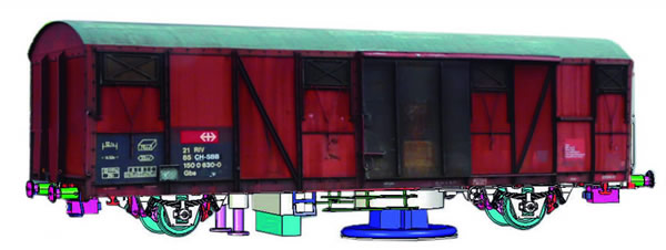 Mabar M-81853 - Track Cleaner Wagon