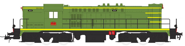 Mabar M-82037 - French Diesel Locomotive 040 DA015 of the SNCF