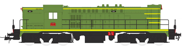Mabar M-82038 - French Diesel Locomotive 040 DA011 of the SNCF