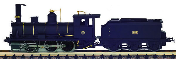 Mabar M-82205 - Spanish Steam Locomotive #203 of the MZA