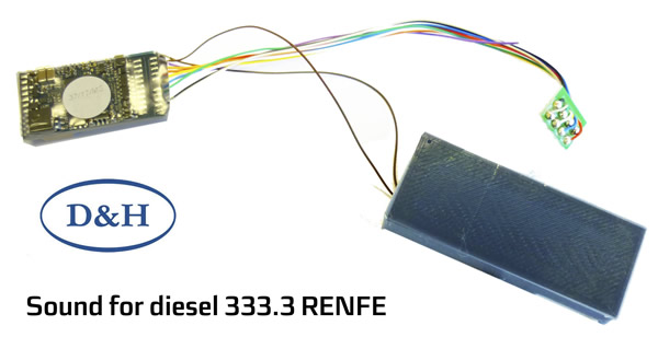Mabar M-83459 - Sound decoder for diesel 333