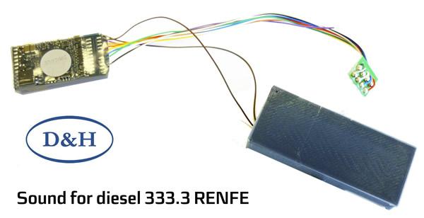 Mabar M-83459 - Sound decoder for diesel 333