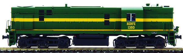 Mabar M-85300 - Spanish Diesel Alco Locomotive 1350 of the RENFE