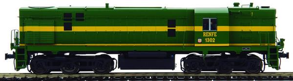 Mabar M-85301 - Spanish Diesel Alco Locomotive 1302 of the RENFE