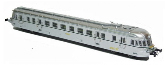Mabar M-85903s - Spanish Railcar ABJ7 9329 of the RENFE (Sound)