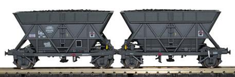 Mabar M-86205 - 2pc Hopper Wagon T2 Set SNCF-SOGEWAG