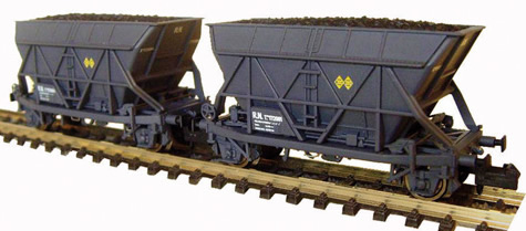 Mabar M-86302 - 2pc Hopper Wagon T2 Set Renfe grey