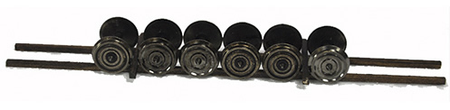 Mabar M-87005 - Load- 6 axles with wheels