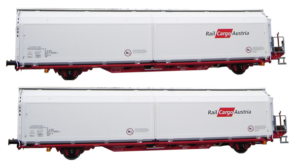 Mabar M-87513 - 2pc Hbbills Wagon Set Railcargo