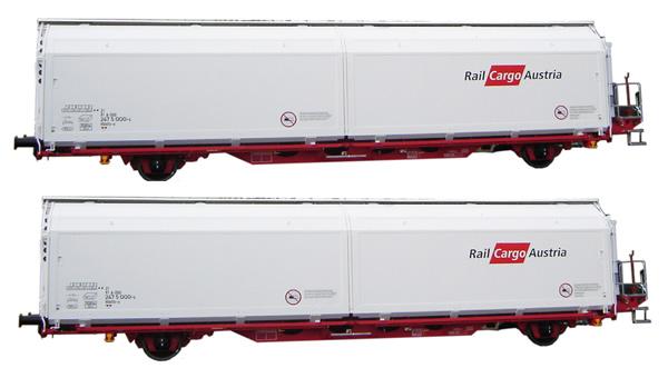 Mabar M-87513 - 2pc Hbbills Wagon Set Railcargo