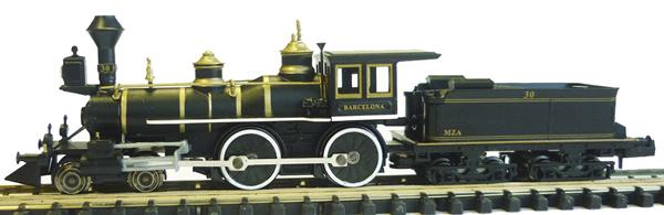 Mabar M-88502 - Spanish Steam Locomotive 220 MZA