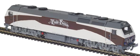 Mabar MH-58808s - Spanish Diesel Locomotive 333.407 Tren de la Fresa of the RENFE (DCC Sound Decoder)