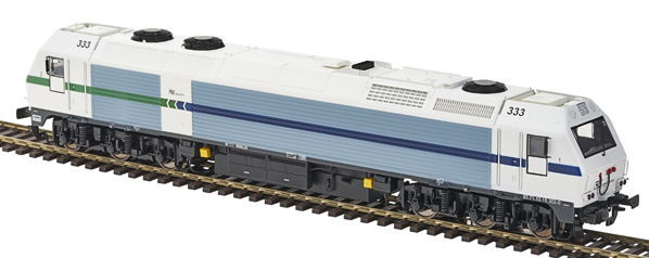 Mabar MH-58809s - Spanish Diesel Locomotive 333 CONVENSA of the RENFE (DCC Sound Decoder)
