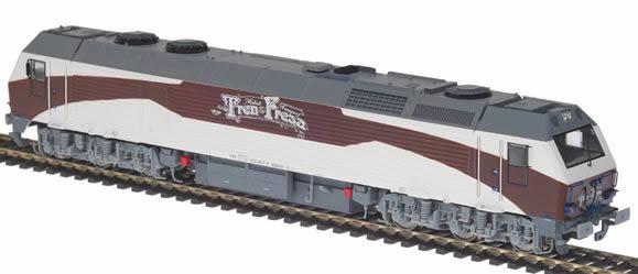 Mabar MH-58846s - Spanish Diesel Locomotive 333.407 Tren de la Fresa of the RENFE (Sound Decoder)
