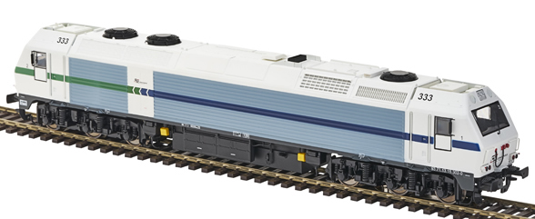 Mabar MH-58847 - Spanish Diesel Locomotive 333 CONVENSA of the RENFE
