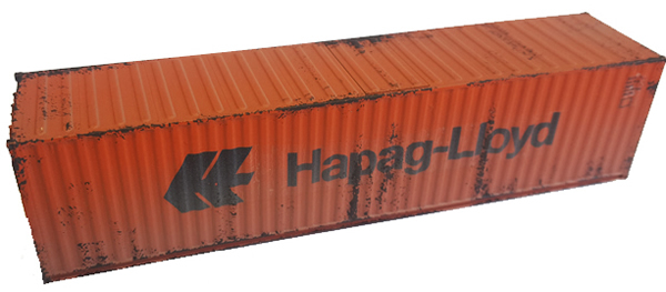 Mabar MH-58890 - Container 40 HAPAG-LLOYD weathered