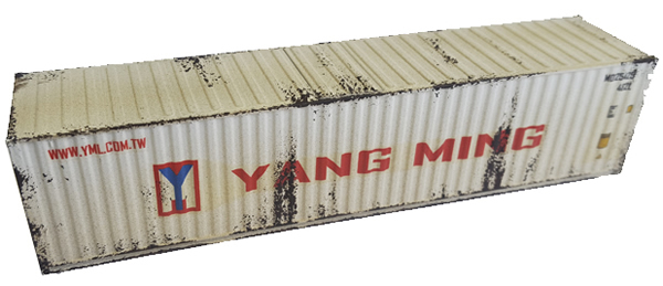 Mabar MH-58891 - Container 40 YANG MING weathered